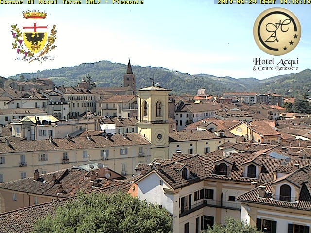 webcam acqui terme