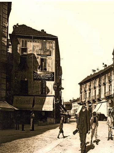 incrocio via Garibaldi - Corso Italia